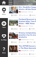 Screenshot of NewsWhip