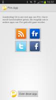 Screenshot of Pim App