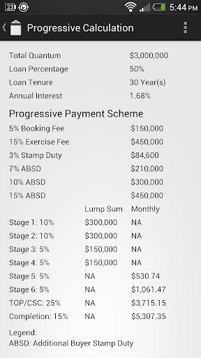 Progressive Calculator SG - screenshot