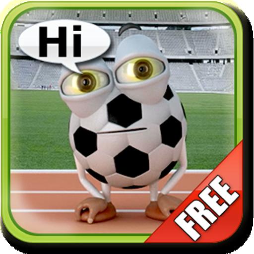 話をサッカーボール無料 休閒 App LOGO-硬是要APP