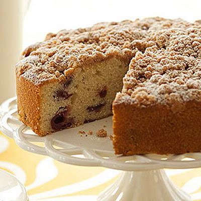 Sour Cherry Coffee Cake