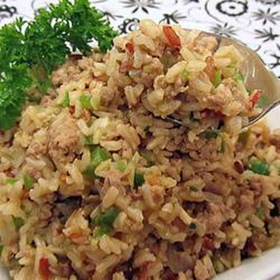 Ke's Cajun (Dirty) Rice