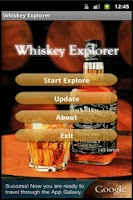 Screenshot of Whiskey Explorer
