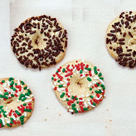 Galletas con Chochitos (Mexican Butter Cookies with Sprinkles)