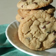 Gluten Free Chocolate Chip Cookies (Gluten, Egg, Dairy Free)