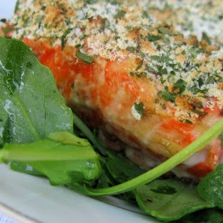 Simple Herb Crusted Salmon