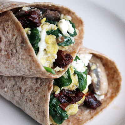 Spinach Feta Wrap