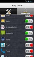 Screenshot of Smart App Lock - App Vault