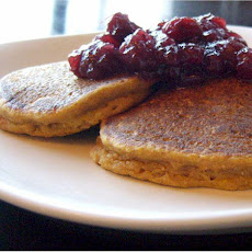 Almost Martha's Pumpkin Pancakes (Milk-Free)