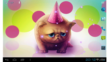 Screenshot of Birthday Kitty
