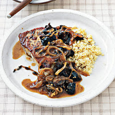 Pork with Cider Pan Sauce