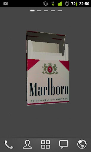 Marlboro Red 3D Live Wallpaper