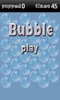 Screenshot of Bubble