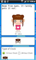 Screenshot of Clock Widget Alice Full Ver.