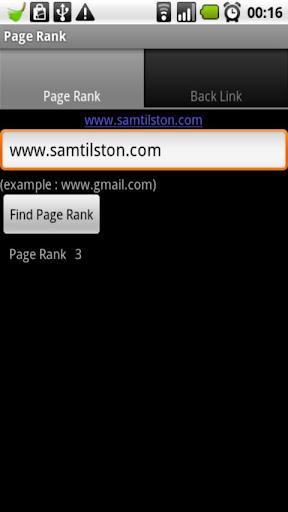 SEO Pagerank Backlink