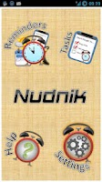 Screenshot of Nudnik Calendar Reminders