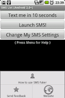 Screenshot of SMS Faker™ for 2.0+ (Adfree)