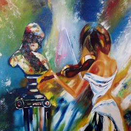 oil p by Shalini Singh - Painting All Painting ( oil painting )