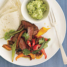 Red-Spice Steak Fajitas