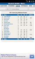Screenshot of Kentucky Football & Basketball