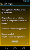 Screenshot of Math-Angles