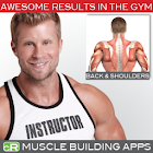 Muscle Building Back+Shoulders icon