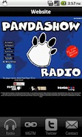 Screenshot of Panda Show Radio