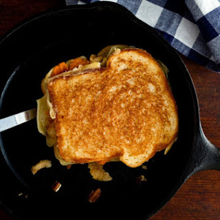 Sweet Potato and Toasted Pecan Grilled Cheese
