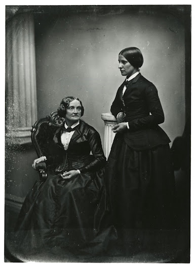 Charlotte Cushman and Matilda Hayes, ca. 1853