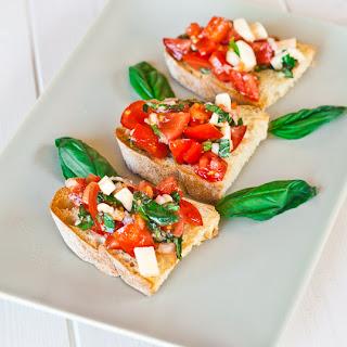 Tomato Provolone Cheese Appetizer Recipes