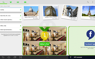 Screenshot of ToucHotel - Hotels, Hotel