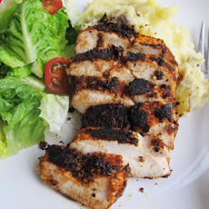 Blackened Chicken With Smashed Potatoes