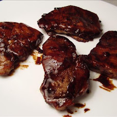Tray Baked Sticky Pork Chops