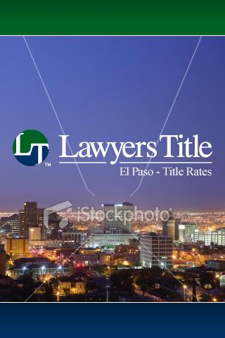 Lawyers Title TX Rates