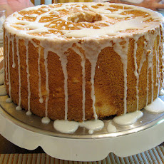 Easy Yellow Pound Cake With Lemon Glaze