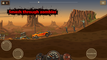 Screenshot of Earn to Die Lite