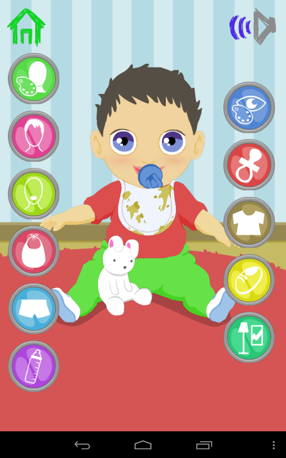 Baby dress up games pictures