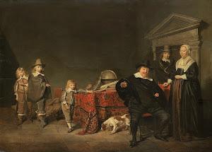 RIJKS: Pieter Codde: painting 1642