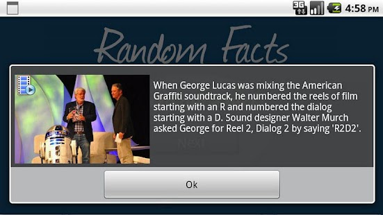 Random Facts - screenshot