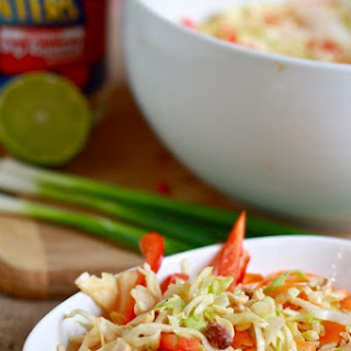 Spicy Crunchy Asian Slaw