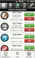 Screenshot of VerkehrsApp