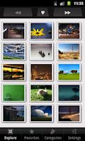 Screenshot of PrettyPics: quality wallpapers