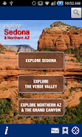 Screenshot of Explore Sedona & Northern AZ