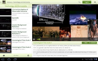 Screenshot of Viewer for Khan Academy