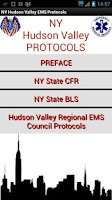 Screenshot of NY Hudson Valley EMS Protocols