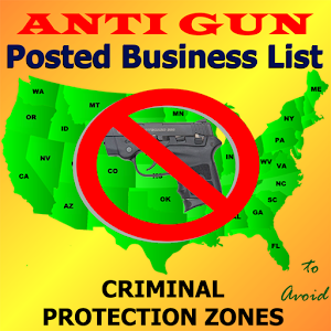 Posted! - Carry List Anti-Gun