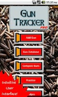 Screenshot of Gun Tracker PRO
