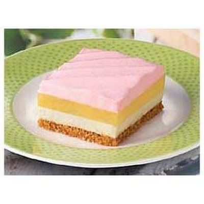 Creamy Strawberry-Lemon Squares