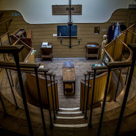 Old Operating Theater, London.  by Jen Pezzotti - Buildings & Architecture Other Interior