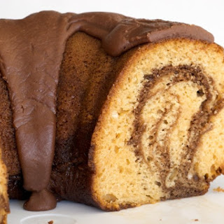 Butterscotch Marble Cake